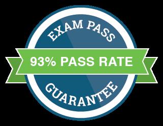 93% Pass Rate, Exam Pass Guarantee